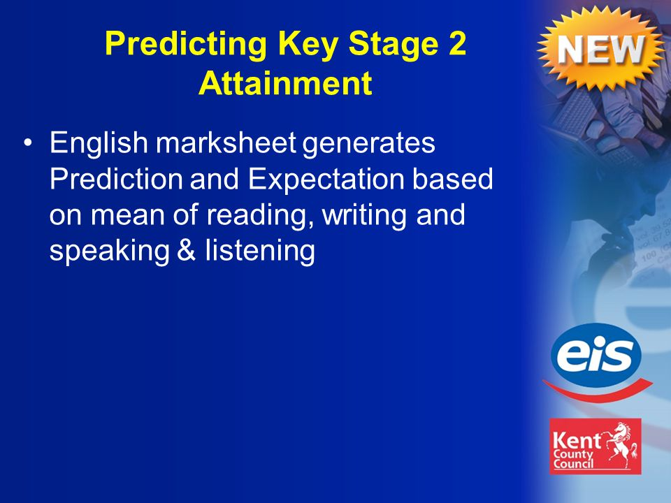 English marksheet generates Prediction and Expectation based on mean of reading, writing and speaking & listening