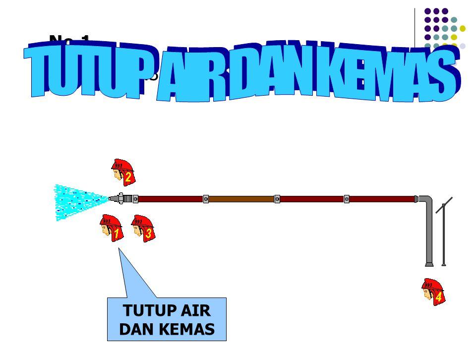 "No.1 Perintah No.3, ""TUTUP AIR DAN KEMAS"" TUTUP AIR DAN KEMAS"