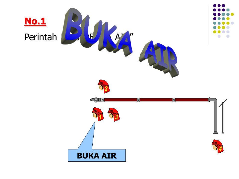 """No.1 Perintah No.3, """"BUKA AIR"""" BUKA AIR"""