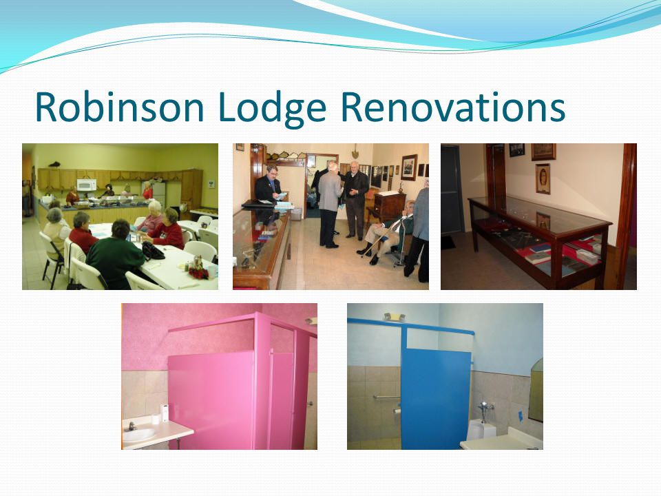 Robinson Lodge Renovations