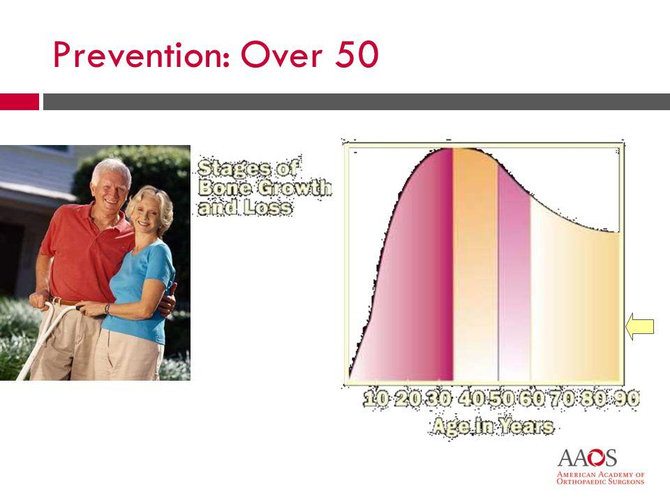 Prevention: Over 50