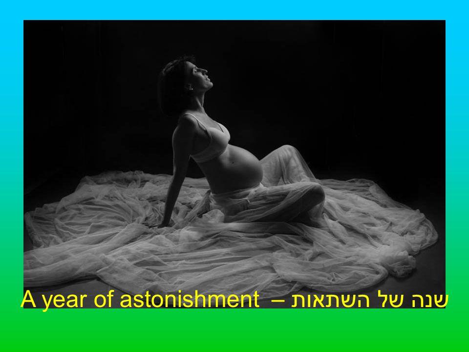 שנה של השתאות – A year of astonishment