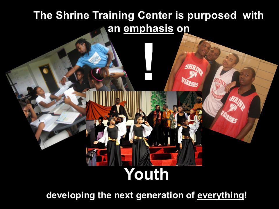 Youth developing the next generation of everything.