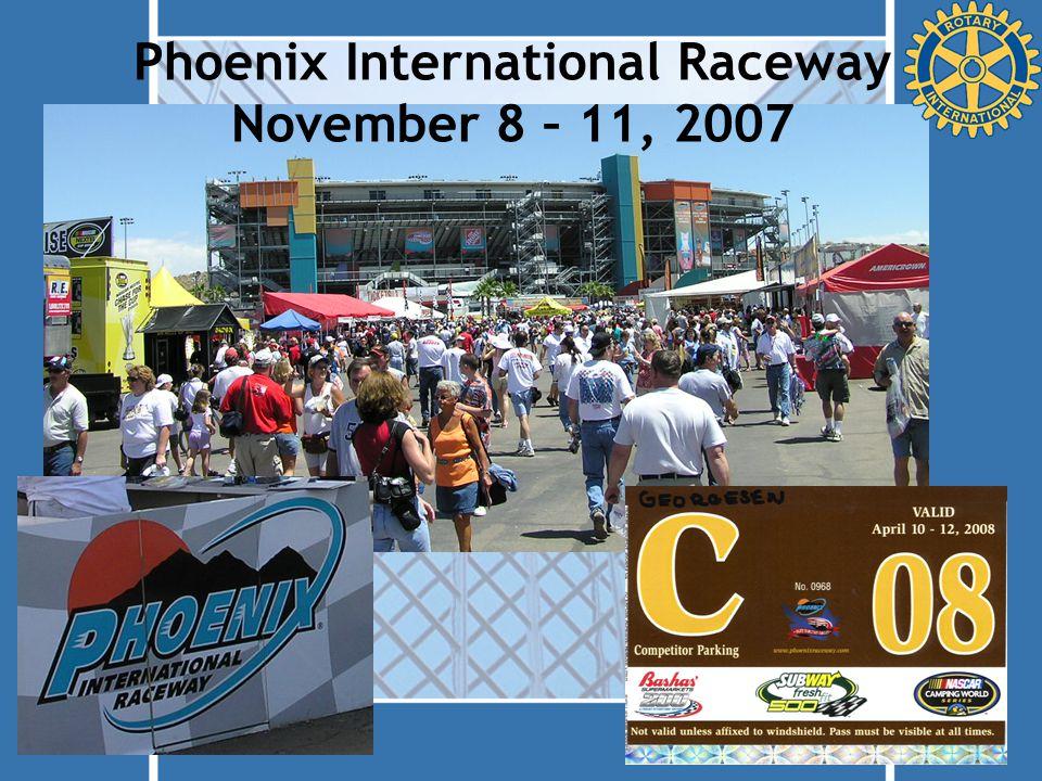 Phoenix International Raceway November 8 – 11, 2007