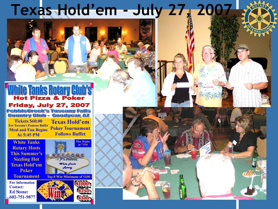 Texas Hold'em - July 27, 2007
