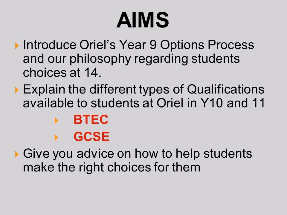 YR9 Options =/ please help!?