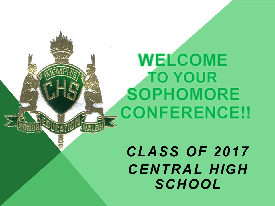 CLASS OF 2017 CENTRAL HIGH SCHOOL