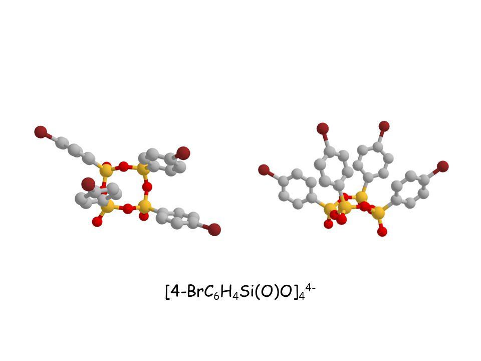 [4-BrC 6 H 4 Si(O)O] 4 4-
