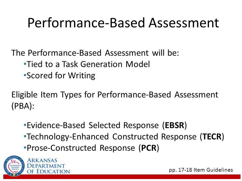 Performance-Based Assessment 9 pp.
