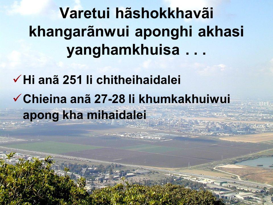 Tuipam pheikakhãi khumkakhui 31 Kathãda varetuili pheisin sãlaga khumkhuira.