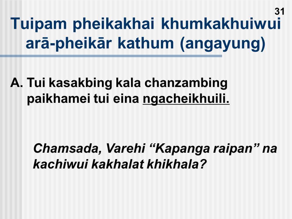 Khamathā arā pheikar eina tuipamwui khamashung kakhalat samphangra Thangkhava thāda mangkhama kaikhana kashāngnaona kazingram kazanghi kayākha saklākkhala sāyanglakra kachi ina theiwo.