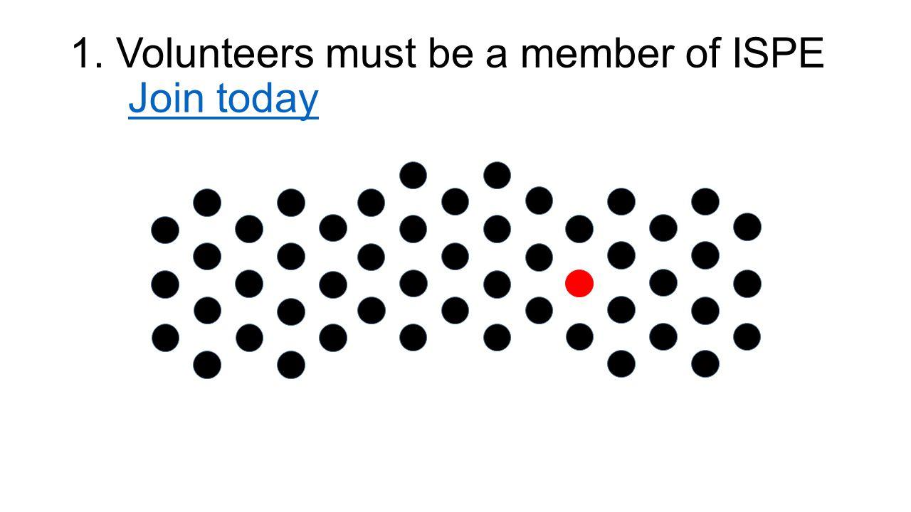 Volunteer Pathway ISPE Boston Area Chapter