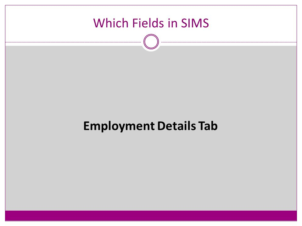 Which Fields in SIMS - Qualifications Please see page 54 of the DfE guidance for information on what qualifications you record and for whom.