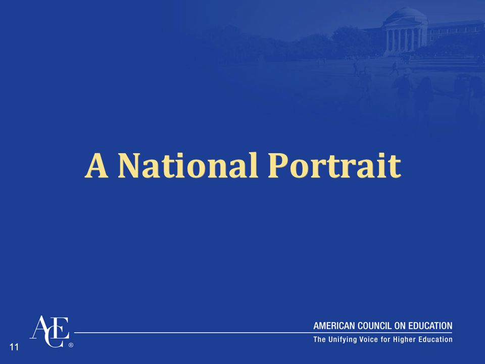 11 A National Portrait
