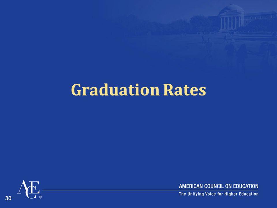 30 Graduation Rates