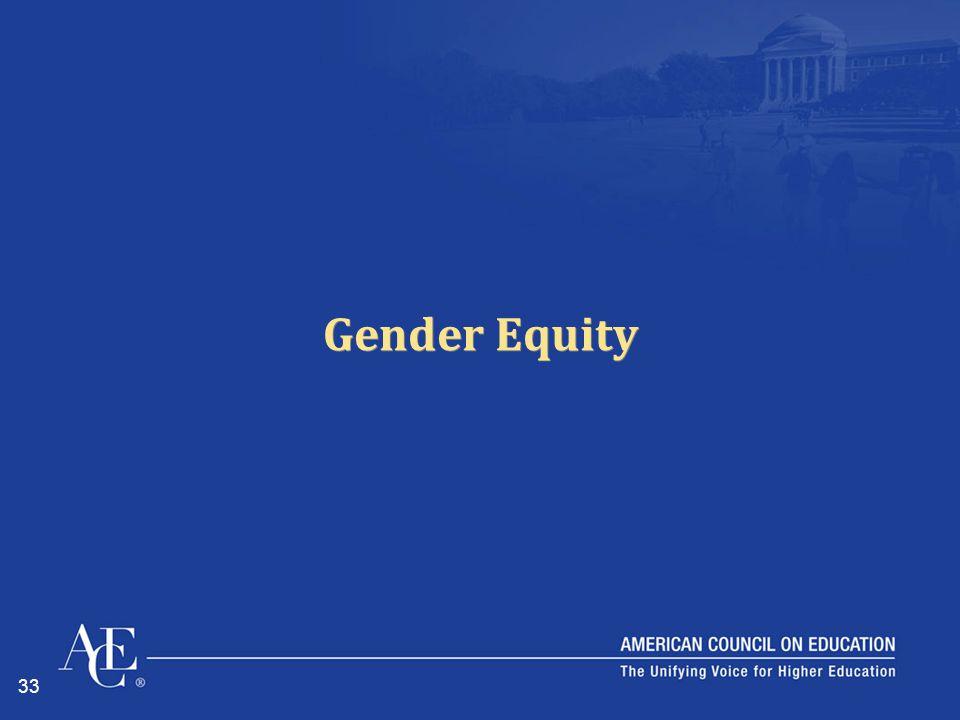 33 Gender Equity