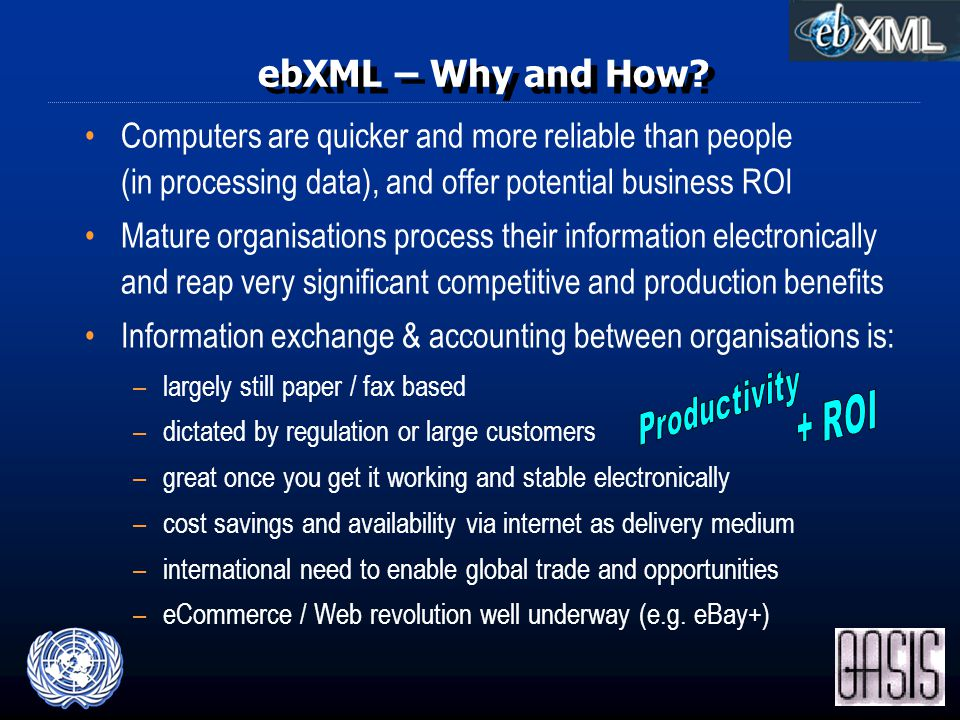 ebXML – Why and How.
