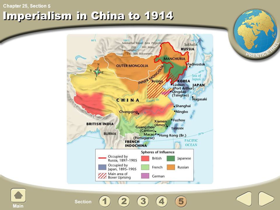 Chapter 25, Section Imperialism in China to 1914 5