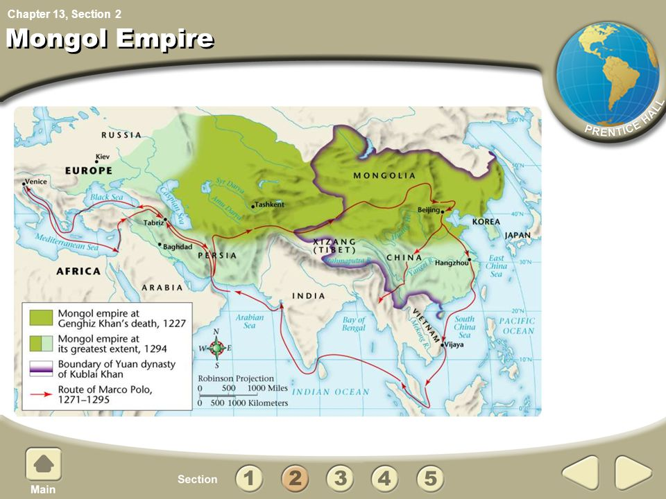 Chapter 13, Section Mongol Empire 2