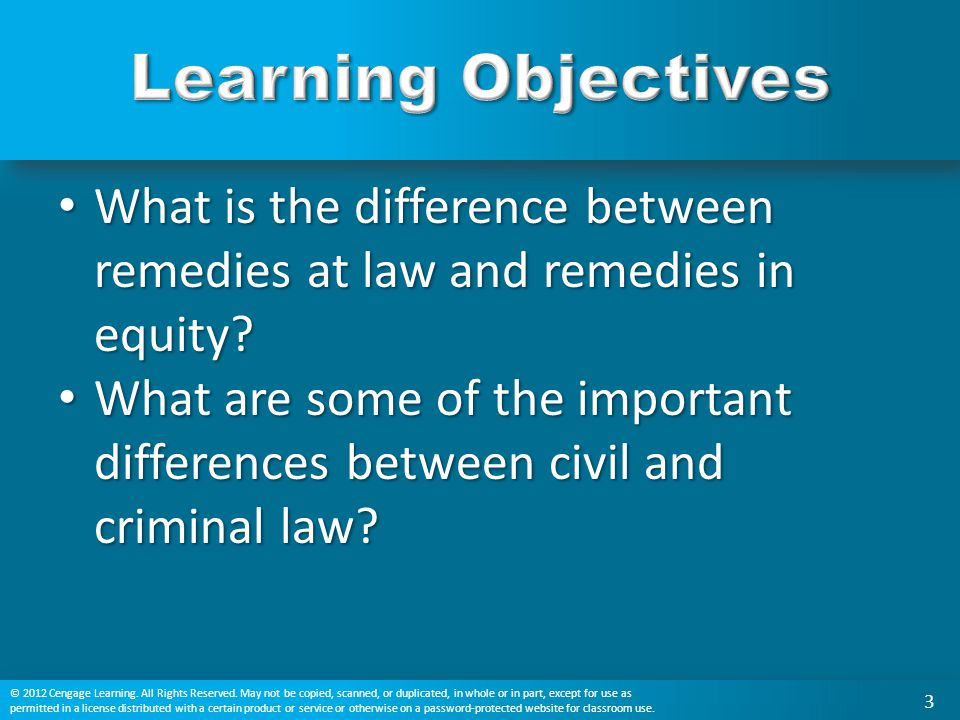 What is the difference between remedies at law and remedies in equity? What is the difference between remedies at law and remedies in equity? What are