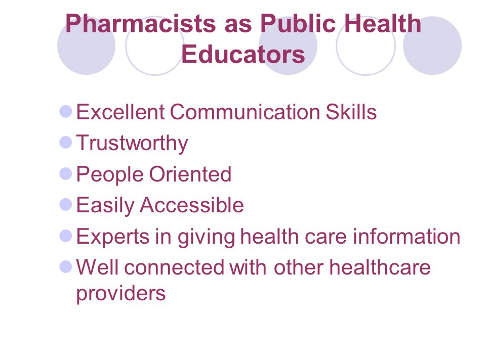 Group Goals Encourage pharmacist volunteerism in public health-related areas To collaborate with the American Pharmacists Association To reach a wide audience through journals, websites, and meetings To solicit and broadcast stories about pharmacists who have volunteered in their community