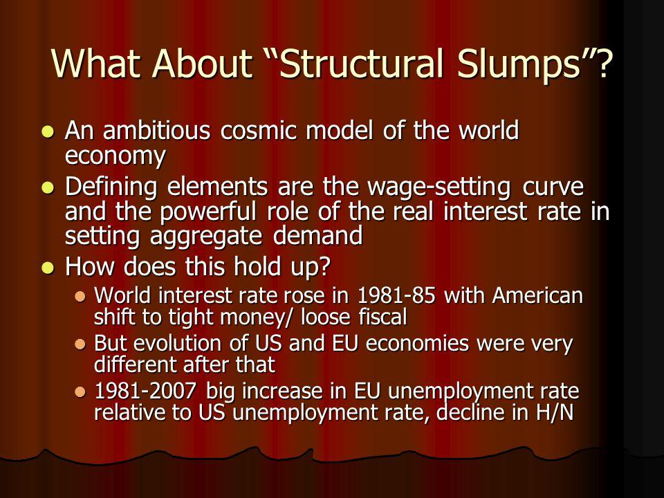 What About Structural Slumps .