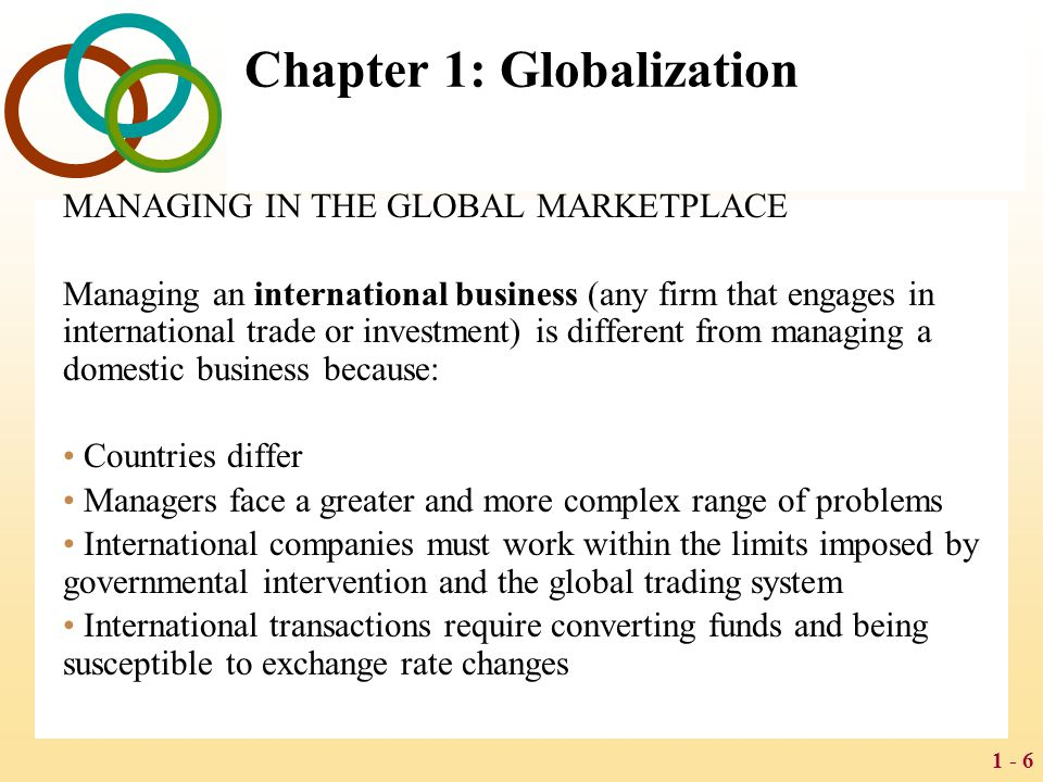 1 - 47 Chapter 8: Regional Economic Integration THE CASE FOR REGIONAL INTEGRATION The case for regional integration is both economic and political.
