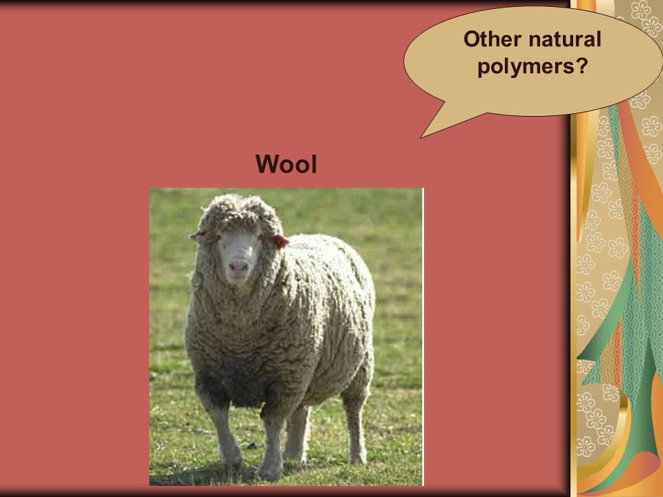 Other natural polymers Wool