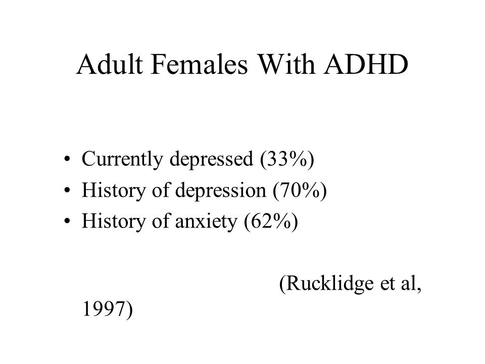 Is the Inattentive Type of ADHD a Distinct Disorder.