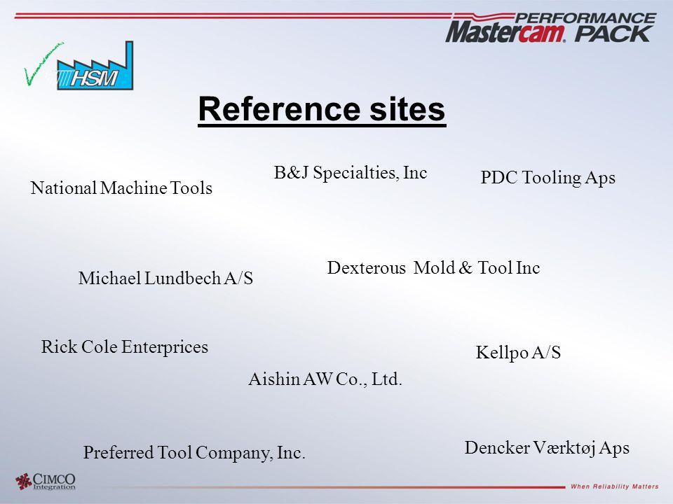 National Machine Tools Reference sites B&J Specialties, Inc Preferred Tool Company, Inc.