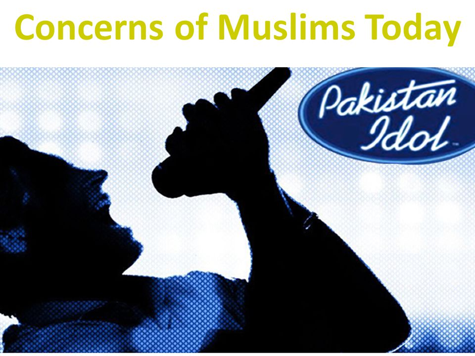 Concerns of Muslims Today