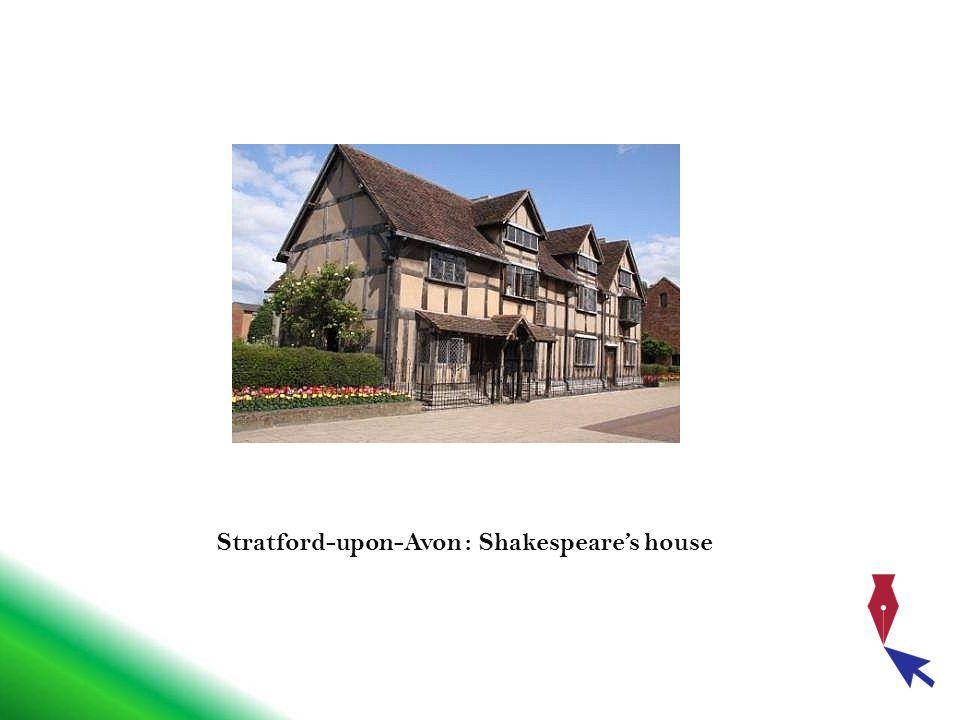 Stratford-upon-Avon : Shakespeare's house
