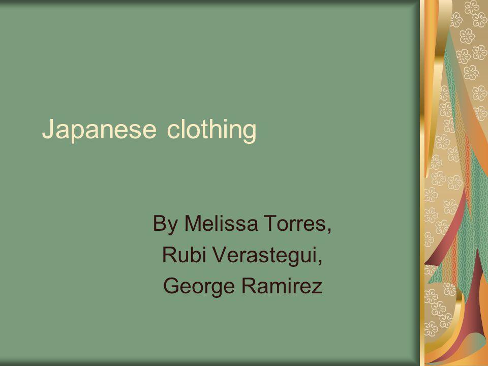 Yukata A yukata is a cooling garment to wear.