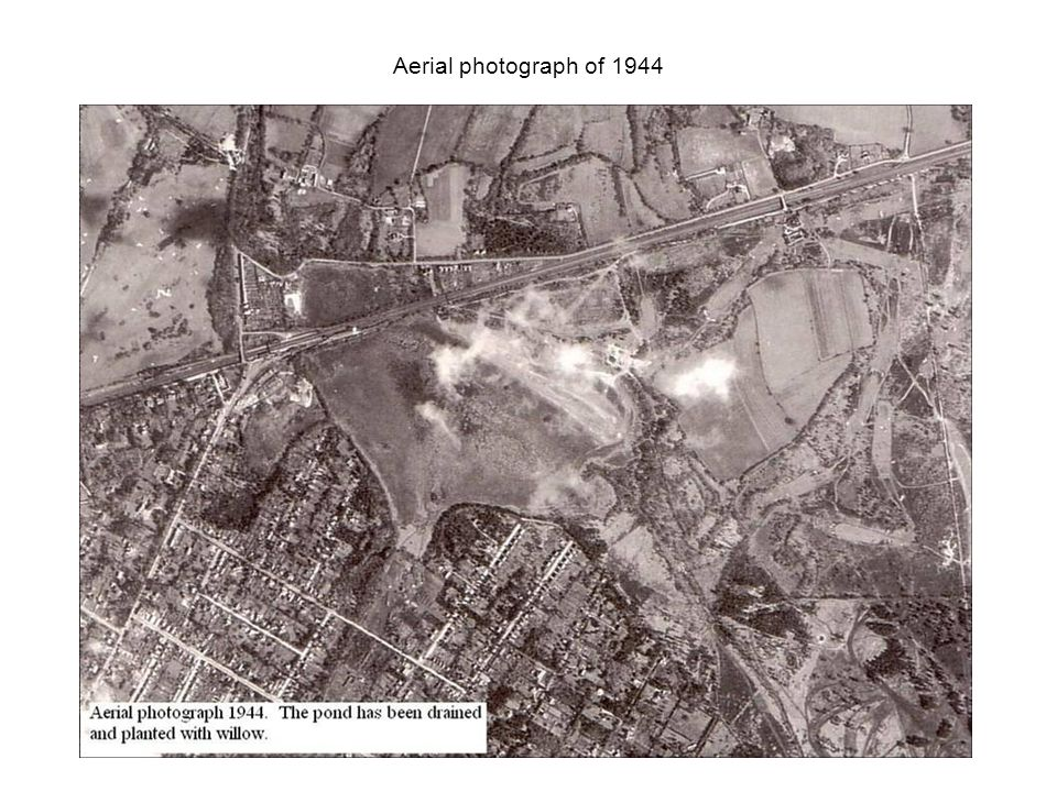Aerial photograph of 1944