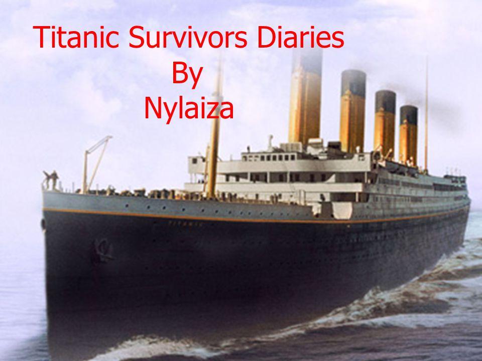 By Nylaiza Espey Titanic Survivors Diaries By Nylaiza