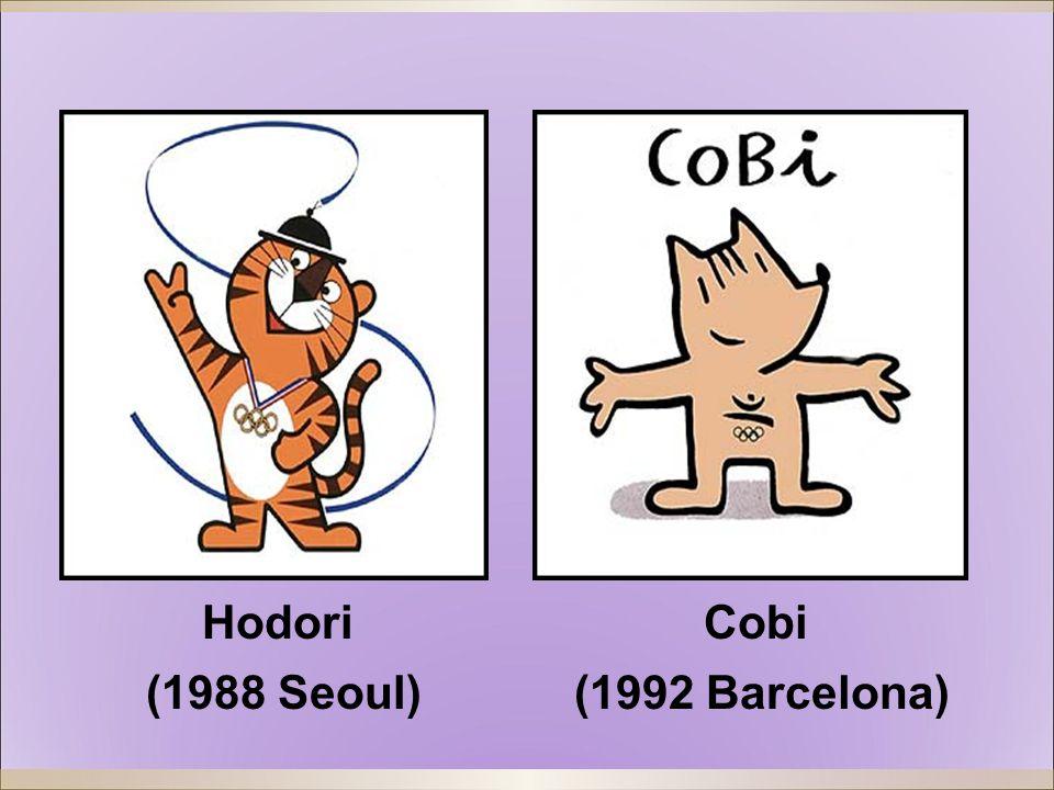 Hodori (1988 Seoul) Cobi (1992 Barcelona)