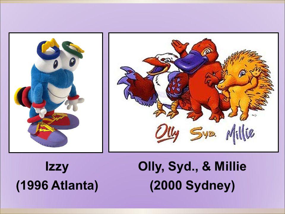 Olly, Syd., & Millie (2000 Sydney) Izzy (1996 Atlanta)