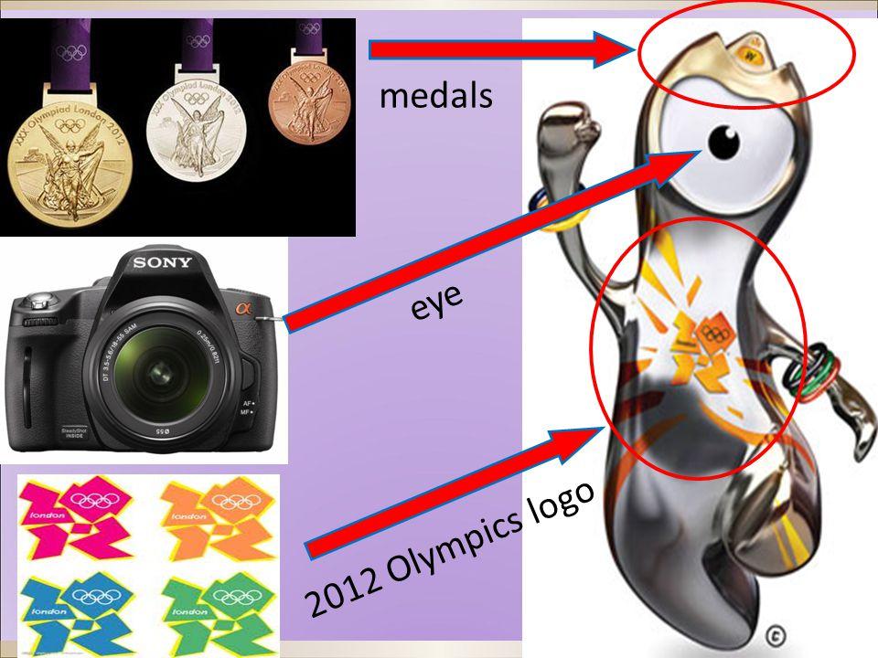 eye medals 2012 Olympics logo