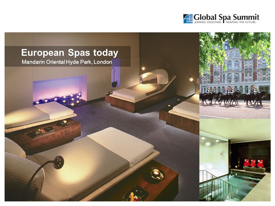 Mandarin Oriental Hyde Park, London European Spas today