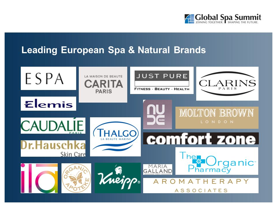 Leading European Spa & Natural Brands