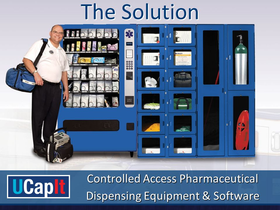 The Solution Controlled Access Pharmaceutical Dispensing Equipment & Software