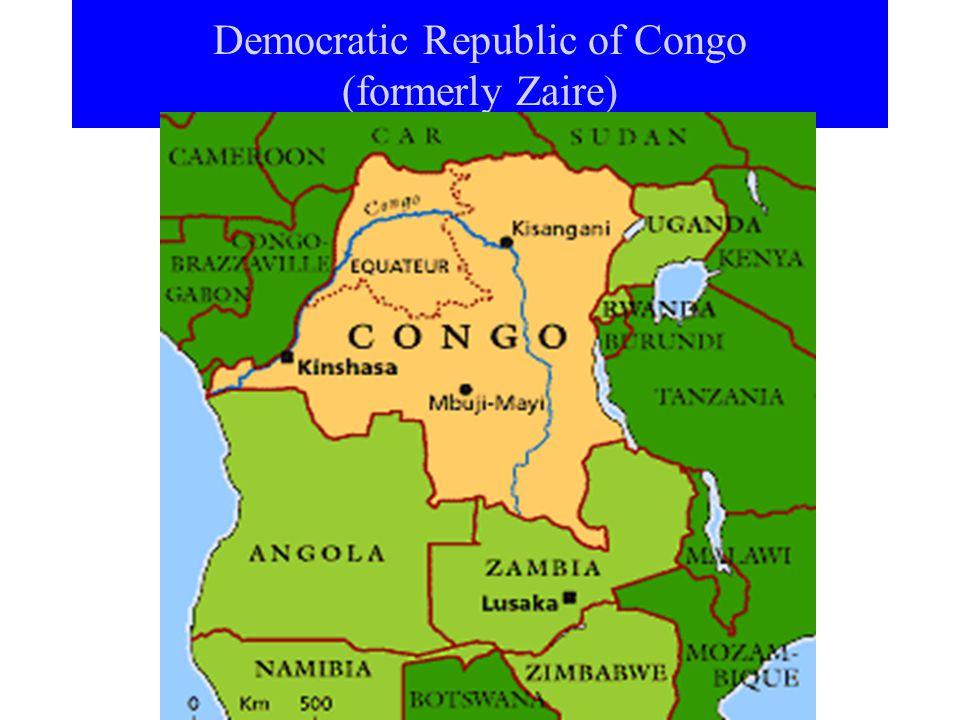 Democratic Republic of Congo (formerly Zaire)