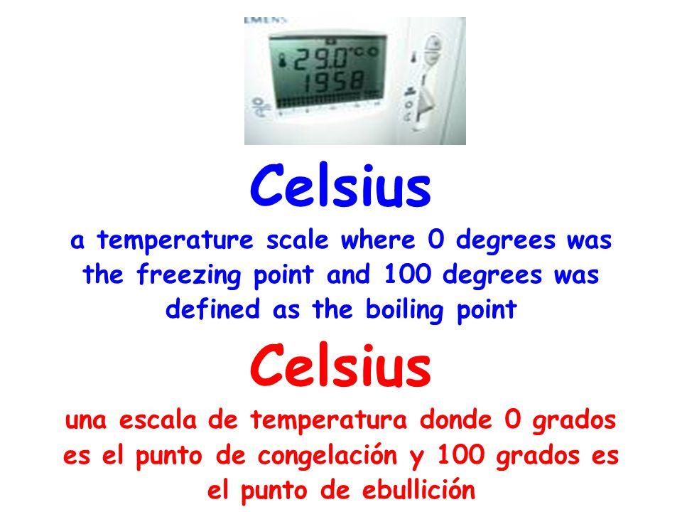 degrees a unit of temperature on a specified scale grados unidad de medida de temperatura y densidad