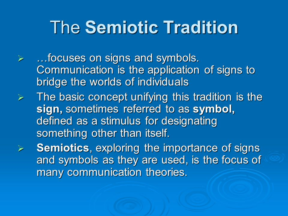 The Sociocultural Tradition  addresses the ways our understandings, meanings, norms, roles, and rules are worked interactively in communication.