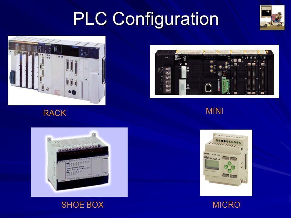PLC Configuration RACK SHOE BOX MINI MICRO