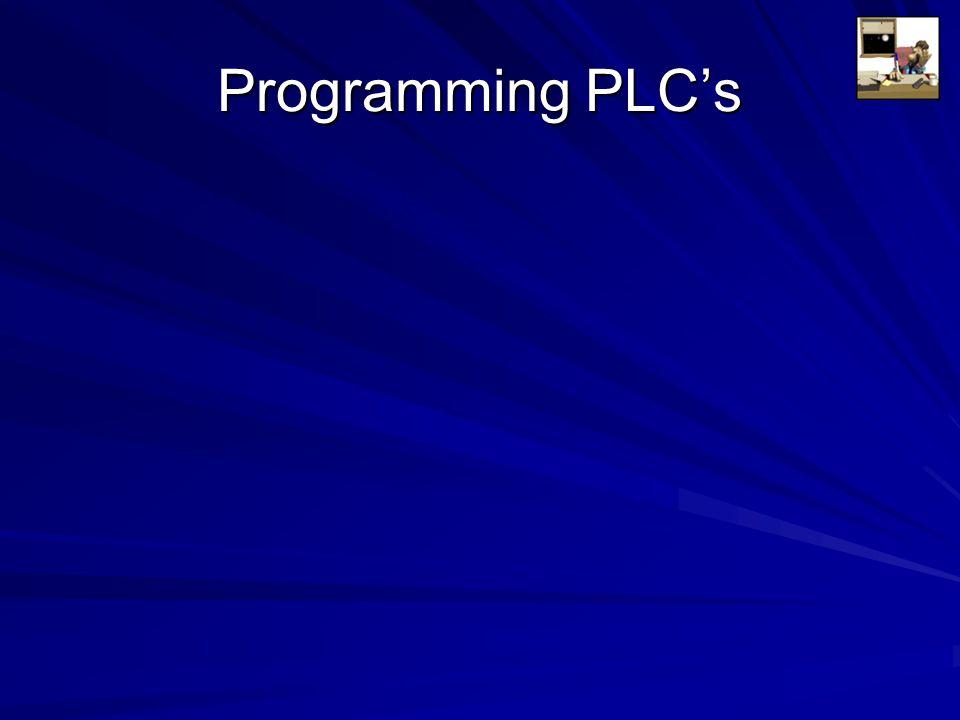 Programming PLC's