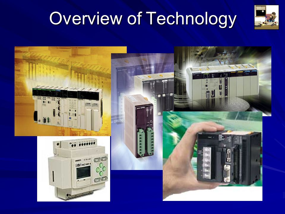 Basic PLC Schema CPU Power Supply Memory Input Blocks Output Blocks Communications Expansion Connections