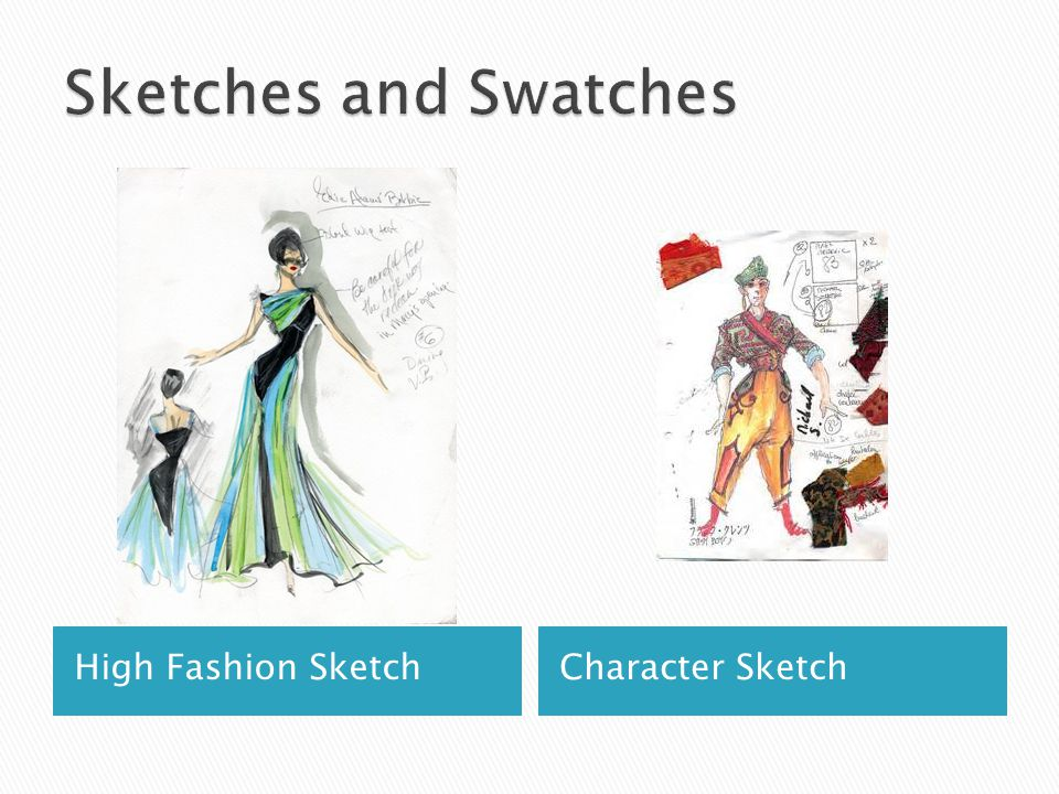 High Fashion SketchCharacter Sketch