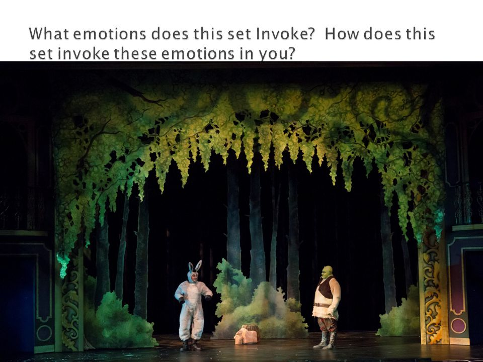  What emotions does this set provoke and how does it provoke these emotions in you