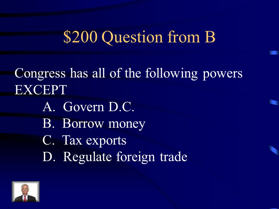$100 Answer from B 2